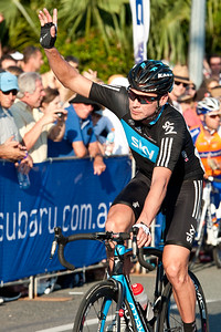 Jeremy Hunt - Subaru Noosa Men's Cycling Grand Prix Criterium - 2011 Super Saturday at the Noosa Triathlon Multi Sport Festival, Noosa Heads, Sunshine Coast, Queensland, Australia; 29 October 2011.