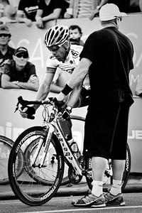"Alternate Processing: ""Stark Raging Black Curve"" - Subaru Noosa Men's Cycling Grand Prix Criterium - 2011 Super Saturday at the Noosa Triathlon Multi Sport Festival, Noosa Heads, Sunshine Coast, Queensland, Australia; 29 October 2011."