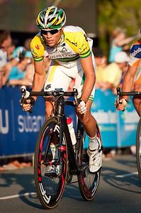 Jonathan Cantwell - Subaru Noosa Men's Cycling Grand Prix Criterium - 2011 Super Saturday at the Noosa Triathlon Multi Sport Festival, Noosa Heads, Sunshine Coast, Queensland, Australia; 29 October 2011.