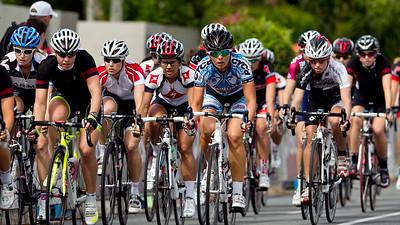 Nicole Cooke, Nikolina Orlic - Subaru Noosa Women's Cycling Grand Prix 2011 - Super Saturday at the Noosa Triathlon Multi Sport Festival, Noosa Heads, Sunshine Coast, Queensland, Australia; 29 October 2011.