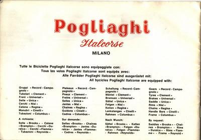 Pogliaghi Brochure c.1967