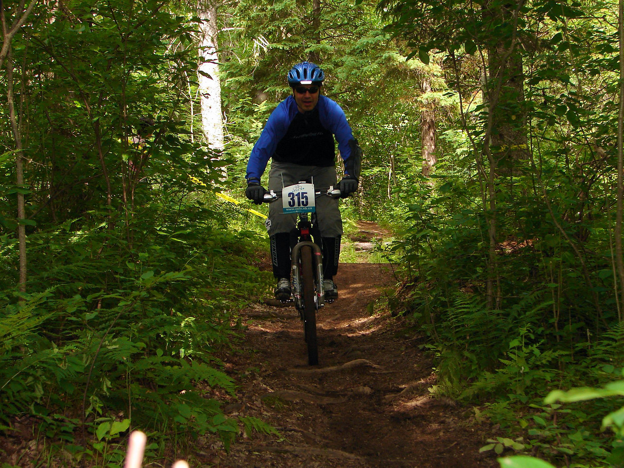 Owning the singletrack