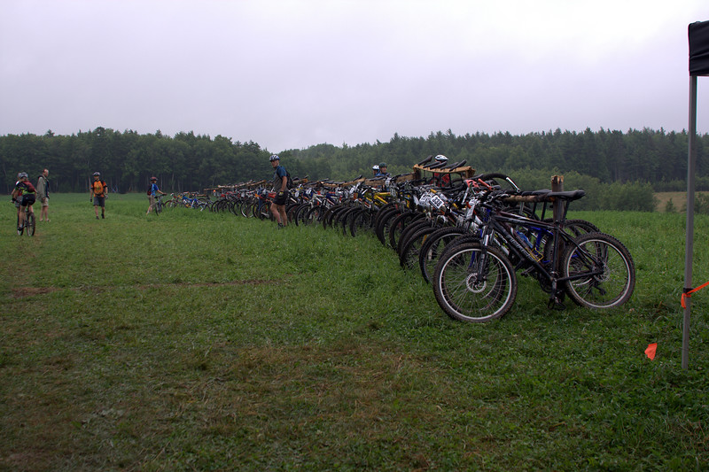 The paddocks. well designed for this kind of race.  the organizers did a great job.