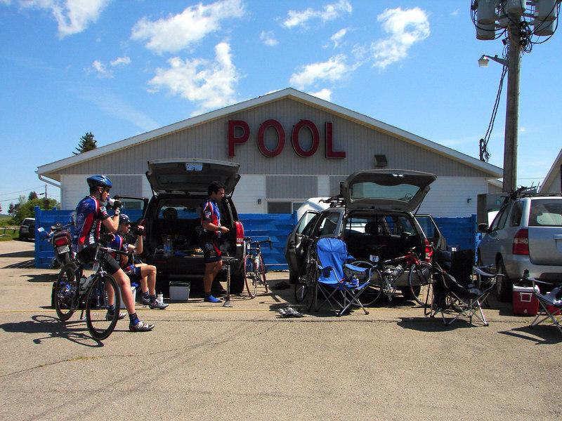 Parking Lot pre race