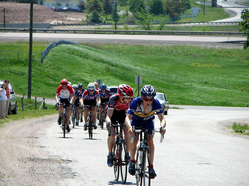 Juniors/Elite Women/Master A group. nice mellow ride for the most part.