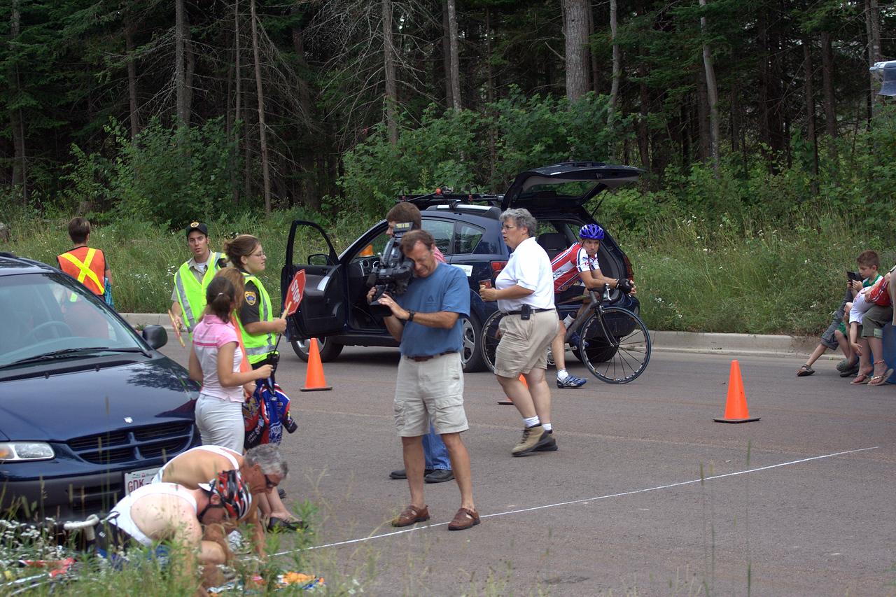 The master men preparing for the 1hr race.