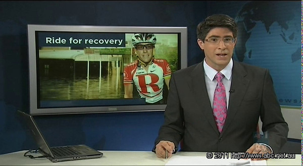 Video: ABC Television (Channel 2 / ABC 1) News Report on Ride Relief, featuring Reporters David Curnow and Mark Hides; along with Sara Carrigan and Suzanne Waldron.