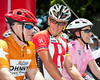 "10x8 - Lance Armstrong, and on his left, Queensland Premier Anna Bligh - Queensland Ride Relief, led by Lance Armstrong, Robbie McEwen & Allan Davis; Brisbane, Queensland, Australia; Monday 24 January 2011. Photos by Des Thureson - <a href=""http://disci.smugmug.com"">http://disci.smugmug.com</a>"