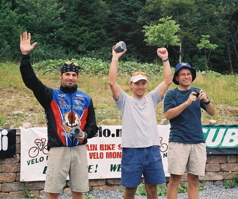 2nd place in the '04 Saint John mtb race. Was a good day.