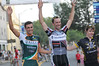 """Tim Johnson, CCB alumni,  the Pro, 1,2 race winner on the podium with Jesse Anthony (2nd) and Gavin Mannion (3d).<br /> Read about him on at:<br />  <a href=""""http://www.uhcprocycling.com/team/tim-johnson/"""">http://www.uhcprocycling.com/team/tim-johnson/</a> Beverly Grand Prix 2010"""