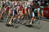 Nick Gates, Robbie McEwen, Allan Davis - South Bank Grand Prix Cycling Criterium, 3-12-2006