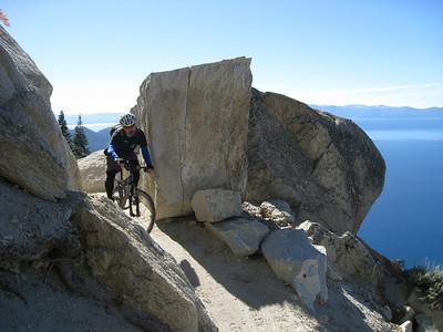 2009 Tahoe Flume Ride 10/09