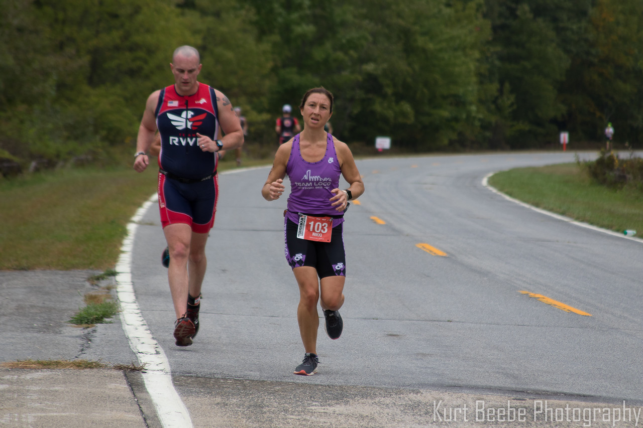 Athletes decended upon Harriman State Park in Stony Point, NY on Sunday September 18, 2016 to compete in the Toughman Triathlon