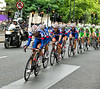Team UK Youth lead the peloton