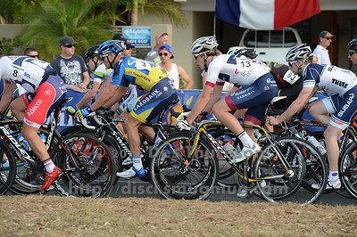 Jonathan Cantwell - 2012 Subaru Men's Cycling Grand Prix Criterium; Noosa Heads, Sunshine Coast, Queensland, Australia; 03 November 2012. Photo: Des Thureson. Camera 1.  - The images in this gallery have not been edited / cropped. If you purchase* a print or download, these images will be edited / corrected / cropped before being sent out. *Ordering will be via http://disci.photoshelter.com or via email. Thanks, Des.