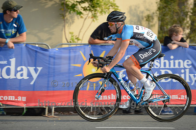 2012 Subaru Men's Cycling Grand Prix Criterium; Noosa Heads, Sunshine Coast, Queensland, Australia; 03 November 2012. Photo: Des Thureson. Camera 1.  - The images in this gallery have not been edited / cropped. If you purchase* a print or download, these images will be edited / corrected / cropped before being sent out. *Ordering will be via http://disci.photoshelter.com or via email. Thanks, Des.
