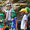 Former NBA star Bill Walton poses with fans on the Stage Six route of the 2013 USA Pro Challenge in August.
