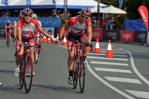 Noosa Women's Cycling Grand Prix - Noosa Triathlon Multi Sport Festival - Sunshine Coast, Queensland, Australia. Saturday 30 October 2010.