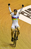 Sir Chris Hoy after winning the Men's Keirin