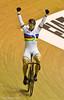Sir Chris Hoy after winning the Men's Keirin