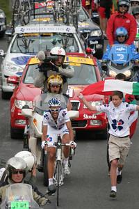 Tour de France 2008, ascension du Tourmalet