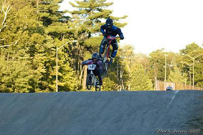 course vélo BMX