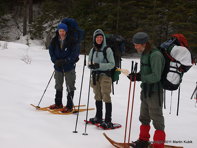 Deciphering our route on the McKenzie Map.   Expedition members honed their orienteering skills during the trip.  Maps were supplied by McKenzie Products http://bwcamaps.com/