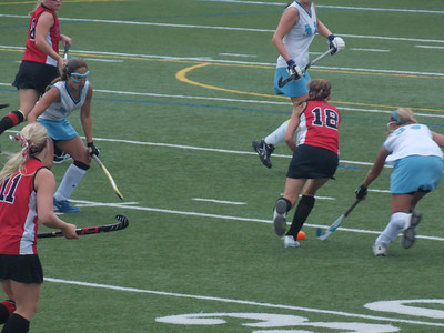 Daniel Boone and Schuylkill Valley field hockey teams battled it out.