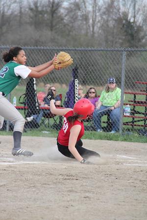 DCS Softball  April 18, 2013