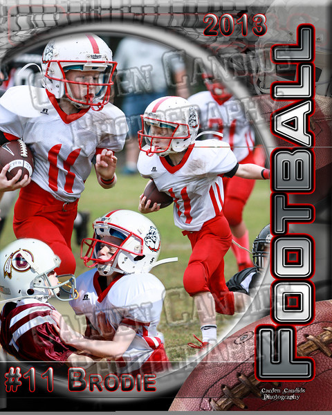 Brodie Smith # 11 JV -16x20