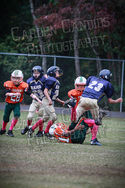 Pinebrook vs Rams 10-19-13-Playoffs-Gavin Arrington #84-22