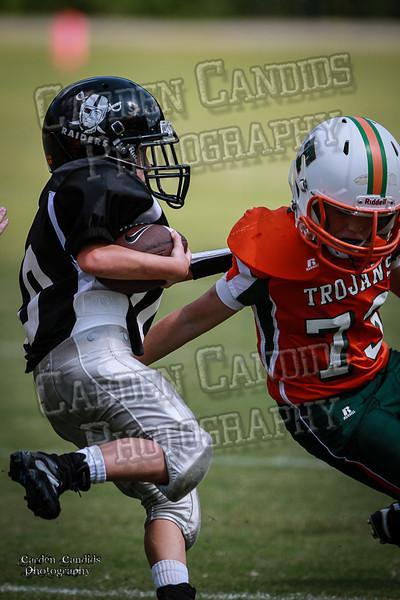 Trojans JV vs Raiders JV 9-7-13-29