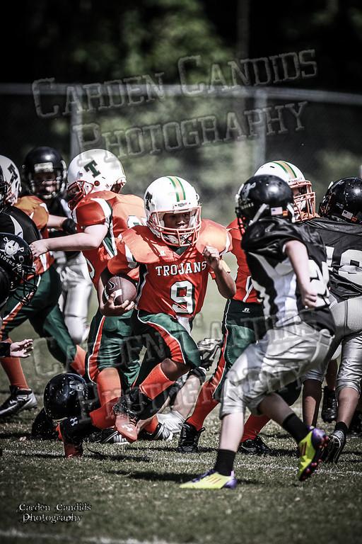Trojans JV vs Raiders JV 9-7-13-7