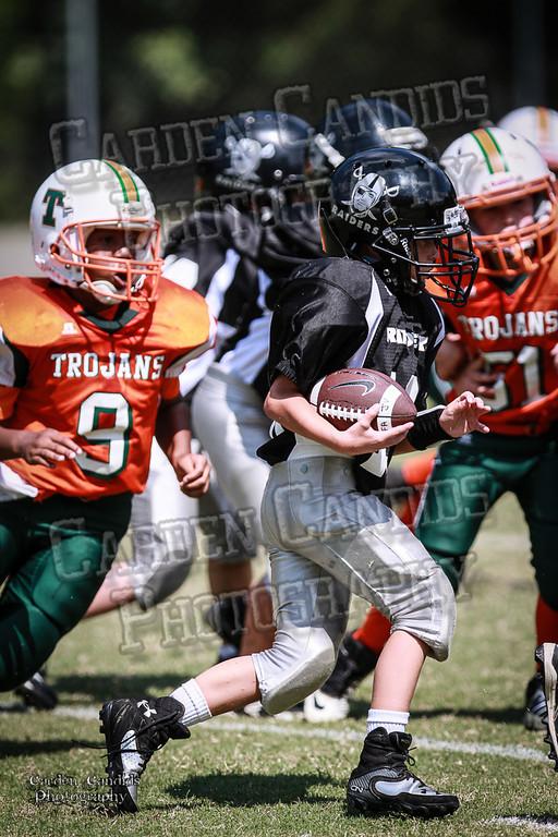 Trojans JV vs Raiders JV 9-7-13-36