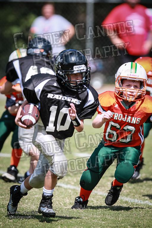 Trojans JV vs Raiders JV 9-7-13-22