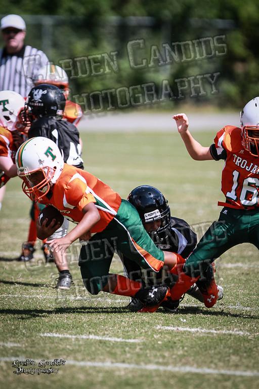 Trojans JV vs Raiders JV 9-7-13-8