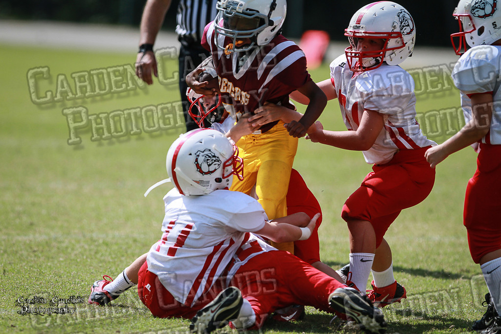 Bulldogs JV vs Redskins JV 9-7-13-37