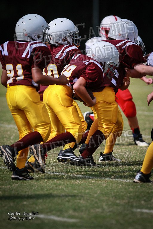 Bulldogs JV vs Redskins JV 9-7-13-28