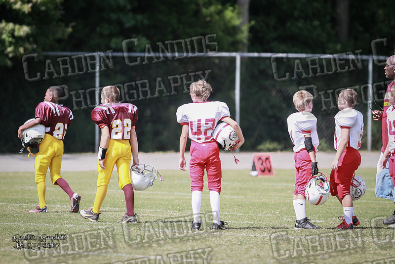 Bulldogs JV vs Redskins JV 9-7-13-1