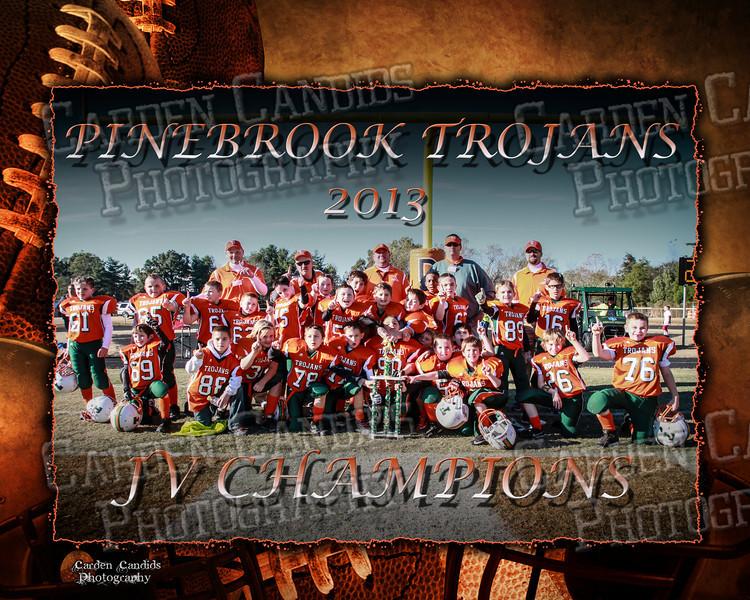 PB TROJAN JV-8X10 Champions