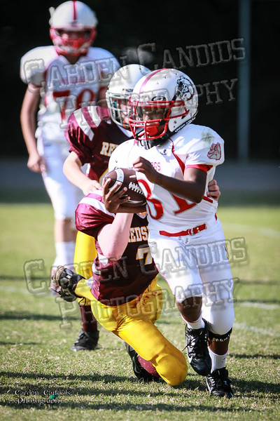 Bulldogs Var vs Redskins Var 9-7-13-22