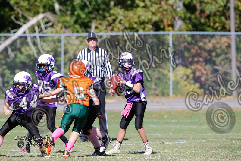 Pinebrook Varsity vs Cornatzer Game played on 10-22-16
