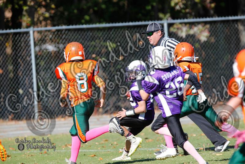 Pinebrook Varsity vs Cornatzer Game played on 10-22-16