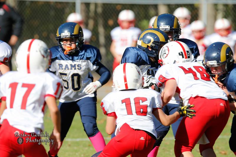 Shady Grove Bulldogs vs Cornatzer Cougars Game played on 10-22-16