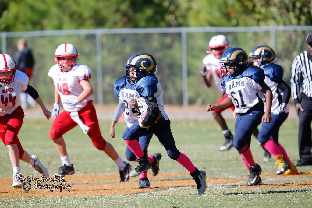 Shady Grove Bulldogs vs Cornatzer Cougars Game played on 10-22-16