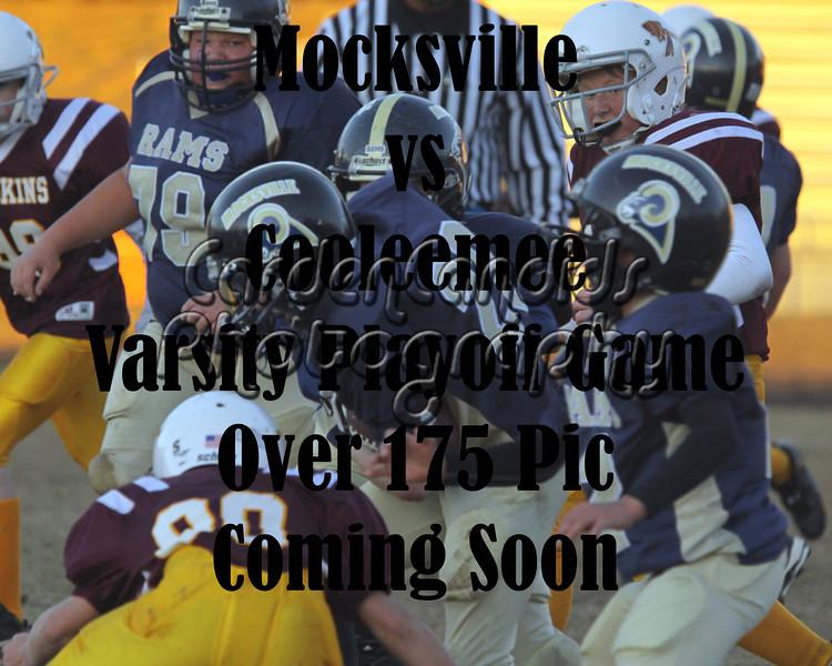Mocksville-Cooleemee-Varsity Playoff Game 11-5-11