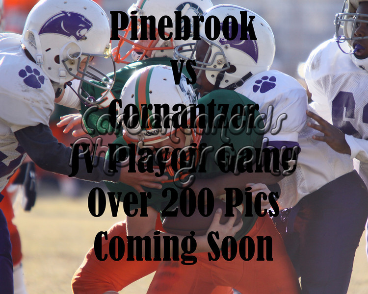 Pinebrook-Cornantzer JV Playoff Game