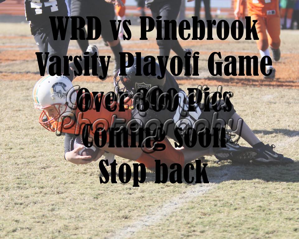 WRD-Pinebrook Varsity 11-5-11 Playoffs