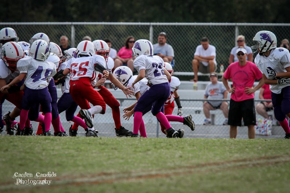 Cougars JV vs Bulldogs JV 10-6-023