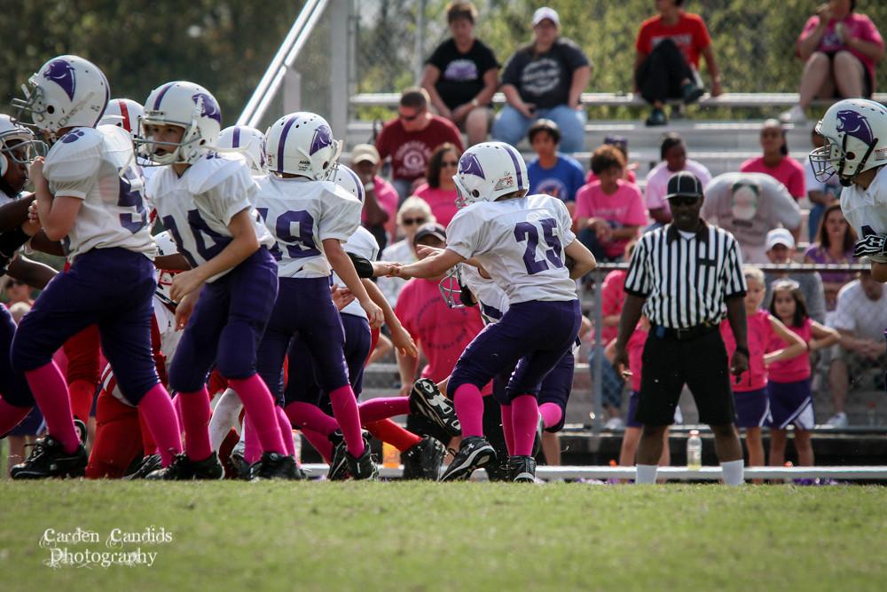Cougars JV vs Bulldogs JV 10-6-030